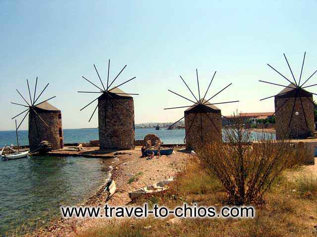 CHIOS WIND MILLS -