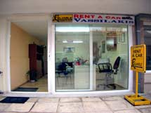 VASSILAKIS RENT A CAR IN  3, Evg. Chandris str - Center