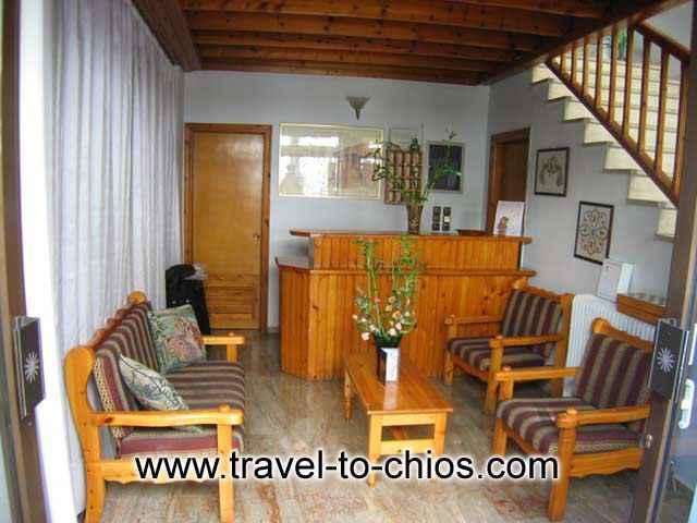 Villa Maro reception image CLICK TO ENLARGE