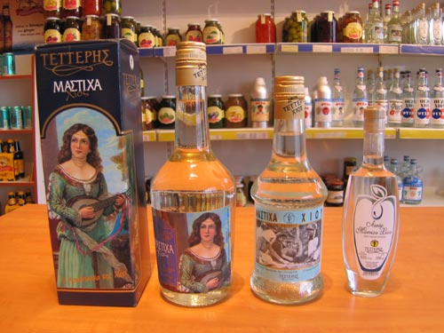 PIRAEUS Image of Ouzo Products CLICK TO ENLARGE